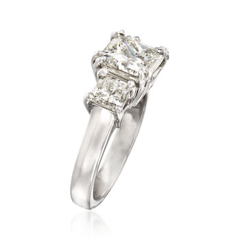 Majestic Collection 4.52 ct. t.w. Diamond Ring in 18kt White Gold, , default