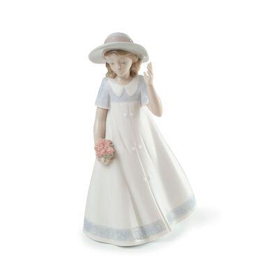 "Nao ""Spring Stroll"" Porcelain Figurine, , default"
