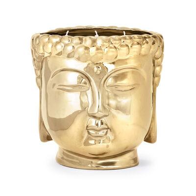 "Thompson Ferrier ""Chai Vanilla Champagne"" Metallic Gold Buddha Candle, , default"