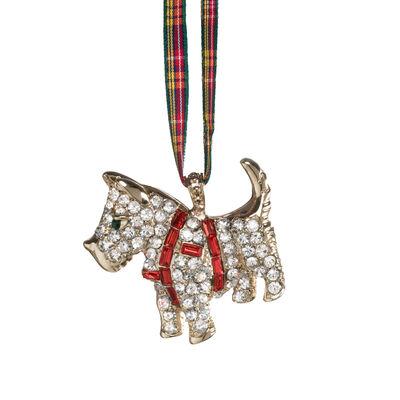 Joanna Buchanan Scottie Dog Ornament, , default