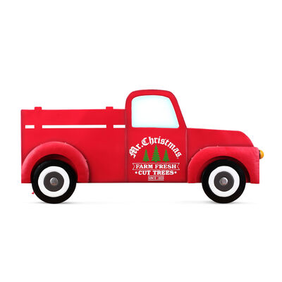 Mr. Christmas Oversized Indoor/Outdoor Metal Truck Sign