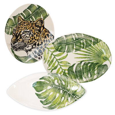 "Vietri ""Into the Jungle"" Platter from Italy"