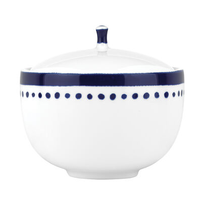 "Kate Spade New York ""Charlotte Street East"" Blue Sugar Bowl"