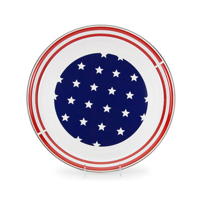 "Golden Rabbit ""Stars and Stripes"" Medium Tray, , default"