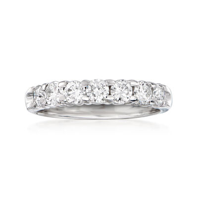C. 2000 Vintage 1.00 ct. t.w. Diamond Ring in 14kt White Gold, , default