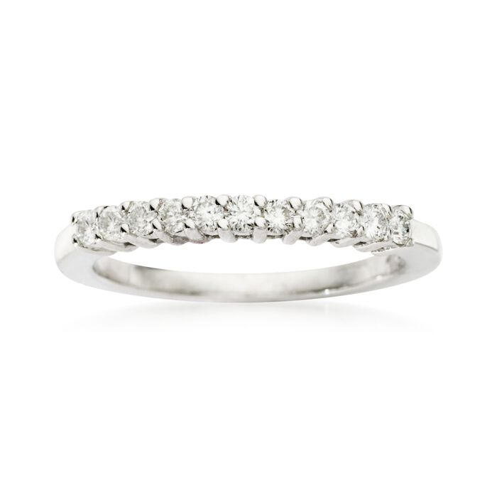 .25 ct. t.w. Diamond Wedding Ring in 14kt White Gold, , default