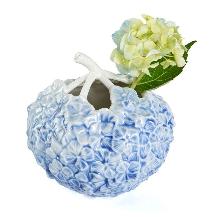 Royal Copenhagen Blue Hydrangea Porcelain Vase, , default