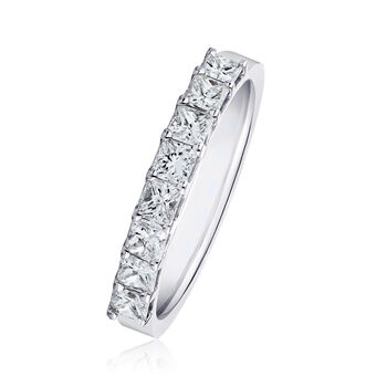 1.90 ct. t.w. Princess-Cut Diamond Ring in 14kt White Gold