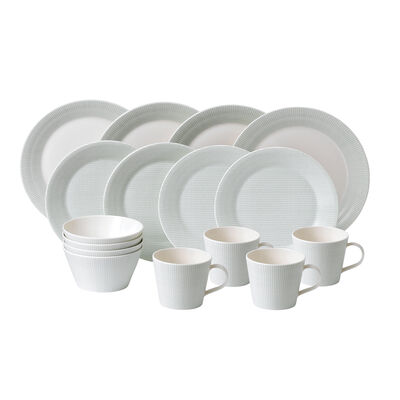 "Royal Doulton ""Pacific Mint"" 16-pc. Service for 4 Dinnerware Set"