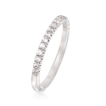 Gabriel Designs .25 ct. t.w. Diamond Wedding Ring in 14kt White Gold, , default
