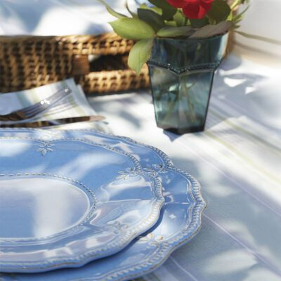 "Lenox ""French Perle"" Blue Melamine Dinnerware, , default"