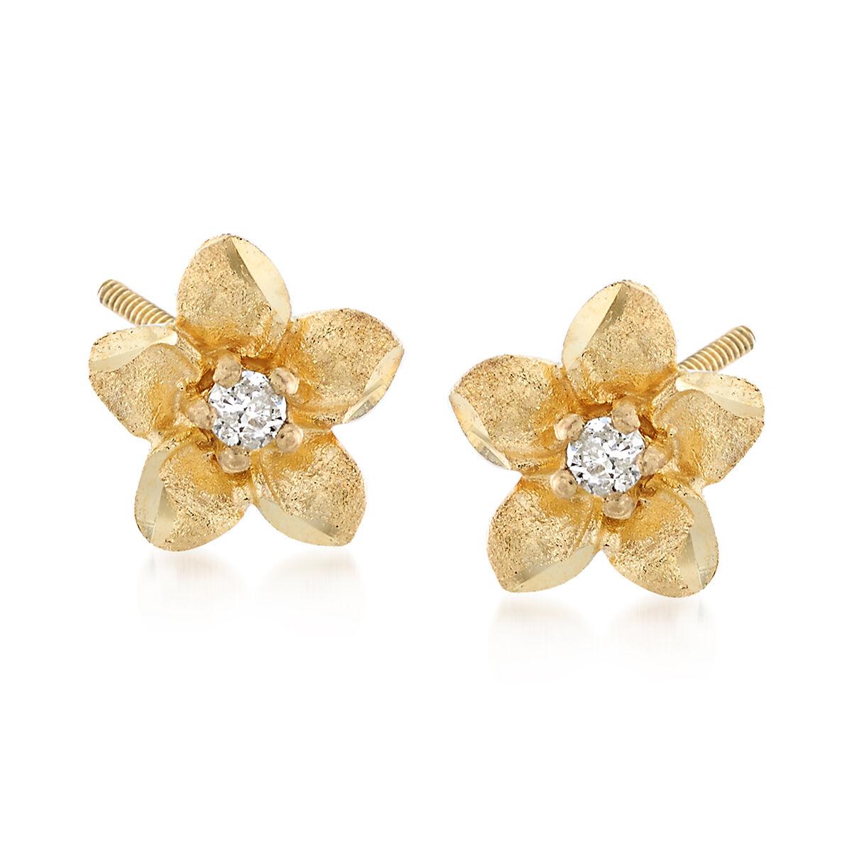 Golden dangling earrings 8080 \u2032s pendant