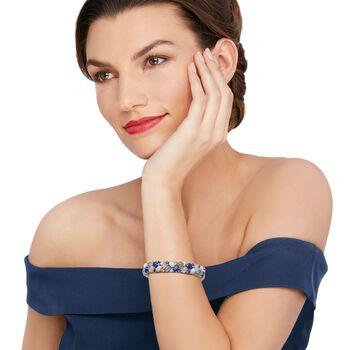 Multi-Stone Bracelet in Sterling Silver, , default