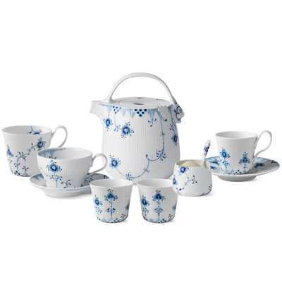 "Royal Copenhagen ""Blue Elements"" Tea Service"