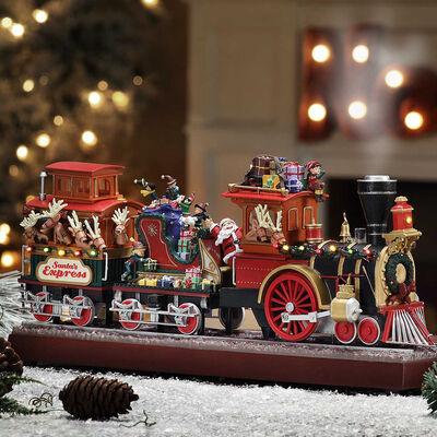 Mr. Christmas Santa Express Musical Train