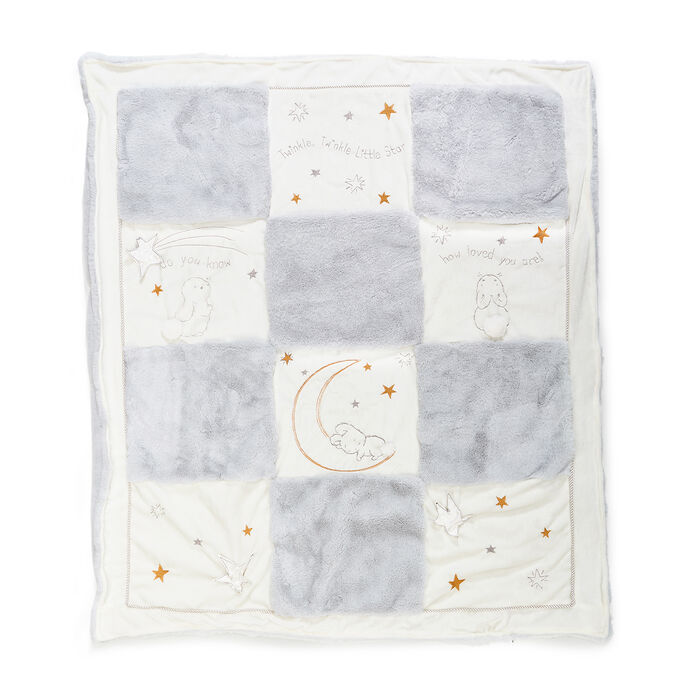 "Bunnies by the Bay ""Bloom Bunny"" Little Star Quilt, , default"
