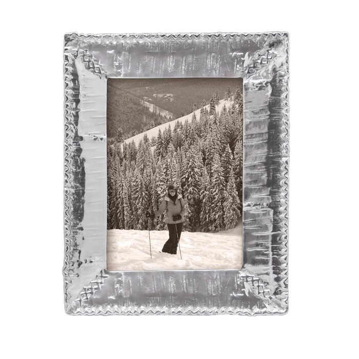 "Mariposa ""Woodlands"" Birch 5x7 Picture Frame"