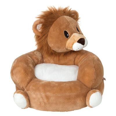 Children's Lion Plush Character Chair , , default