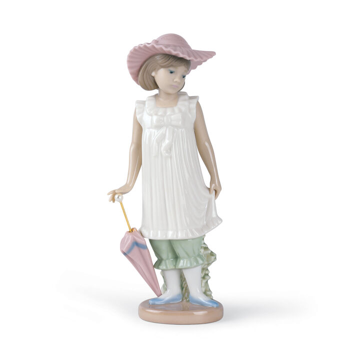 "Nao ""April Showers"" Porcelain Figurine , , default"