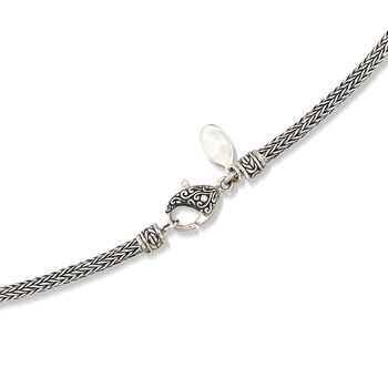 3mm Sterling Silver Modified Wheat Chain Necklace, , default