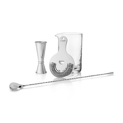 4-pc. Mixologist Stainless Steel Barware Set