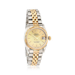 Certified Pre-Owned Rolex Datejust Women's 31mm Automatic Watch in Stainless Steel and 18kt Yellow Gold, , default