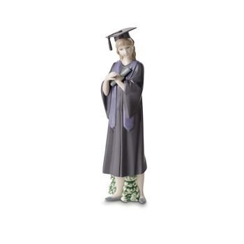 "Nao ""Graduate Celebration"" Porcelain Figurine"
