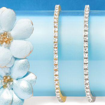 3.00 ct. t.w. Diamond Tennis Bracelet in 14kt Yellow Gold, , default