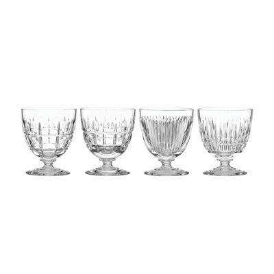 "Reed & Barton ""New Vintage"" Set of 4 Cocktail Glasses, , default"