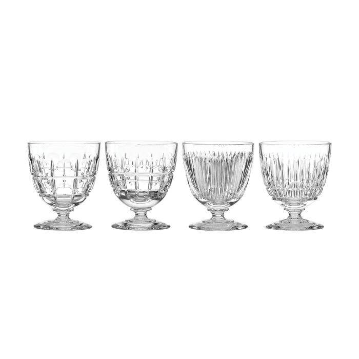 "Reed & Barton ""New Vintage"" Set of 4 Cocktail Glasses"