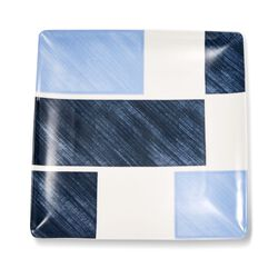 "Lenox and Luca Andrisani ""Blue Azzurro"" Porcelain Square Tray, , default"
