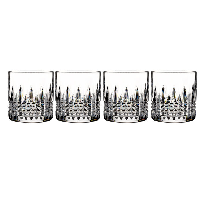 "Waterford Crystal ""Connoisseur"" Set of 4 Lismore Diamond Straight-Sided Tumbler Glasses, , default"