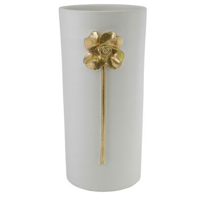 """Vietri """"Fiori"""" Rose Large Vase from Italy"""