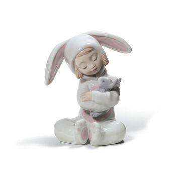 "Lladro ""Bunny Hugs"" Porcelain Figurine, , default"