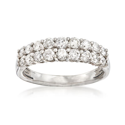 1.00 ct. t.w. Diamond Double-Row Ring in Platinum, , default