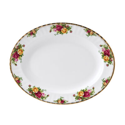 """Royal Albert """"Old Country Roses"""" Oval Platter"""