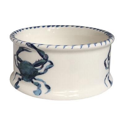 "Abbiamo Tutto ""Blue Crab"" Ceramic Pet Bowl from Italy, , default"