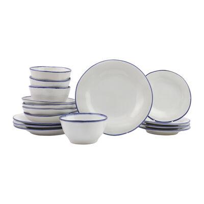 "Vietri ""Aurora Edge"" 16-pc. Dinnerware Set from Italy"