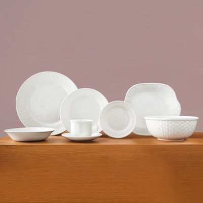 "Wedgwood 260th Anniversary ""Nantucket Basket"" 26-pc. Dinnerware Set with 2-pc. Hostess Set, , default"
