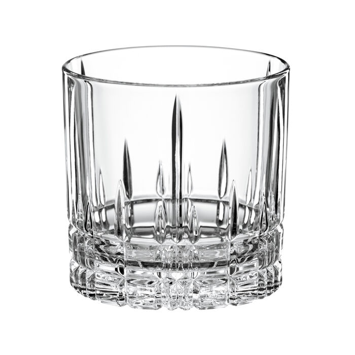 """Perfect"" Set of 4 Single Old-Fashioned Glasses"