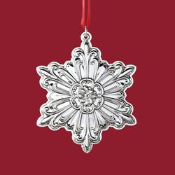 "Towle 2018 Annual ""Old Master"" Sterling Silver Snowflake Ornament - 29th Edition, , default"