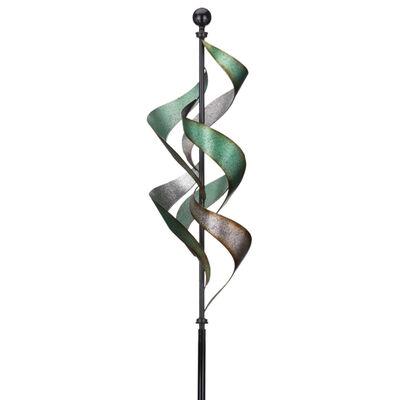 Regal Vertical Waterfall Metal Outdoor Wind Spinner