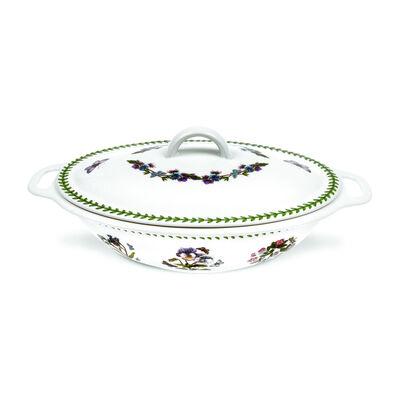 "Portmeirion ""Botanic Garden"" Covered Oval Casserole Dish"