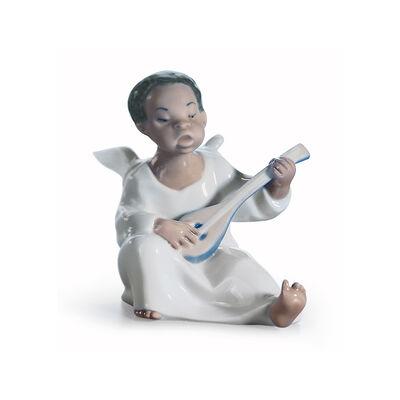 "Lladro ""Angel"" Porcelain Figurine, , default"