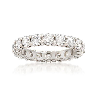 2.80 ct. t.w. Diamond Eternity Band in Platinum