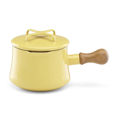 "Dansk ""Kobenstyle"" Yellow Hot Chocolate Pot with Lid, , default"