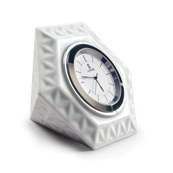 Lladro Porcelain Frame Hexagonal Clock, , default