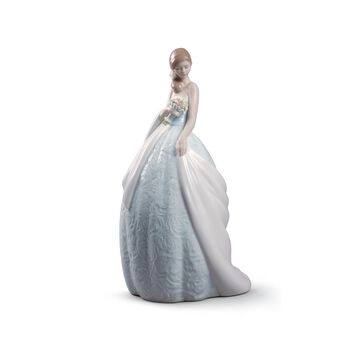 "Lladro ""Her Special Day"" Porcelain Figurine, , default"