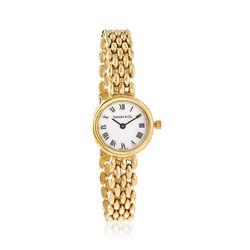 C. 1990 Vintage Tiffany Jewelry Women's 21mm 14kt Yellow Gold Watch, , default