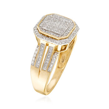 .20 ct. t.w. Pave Diamond Ring in 14kt Yellow Gold, , default